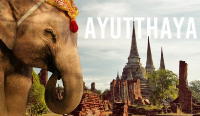 ayutthaya elephant temple