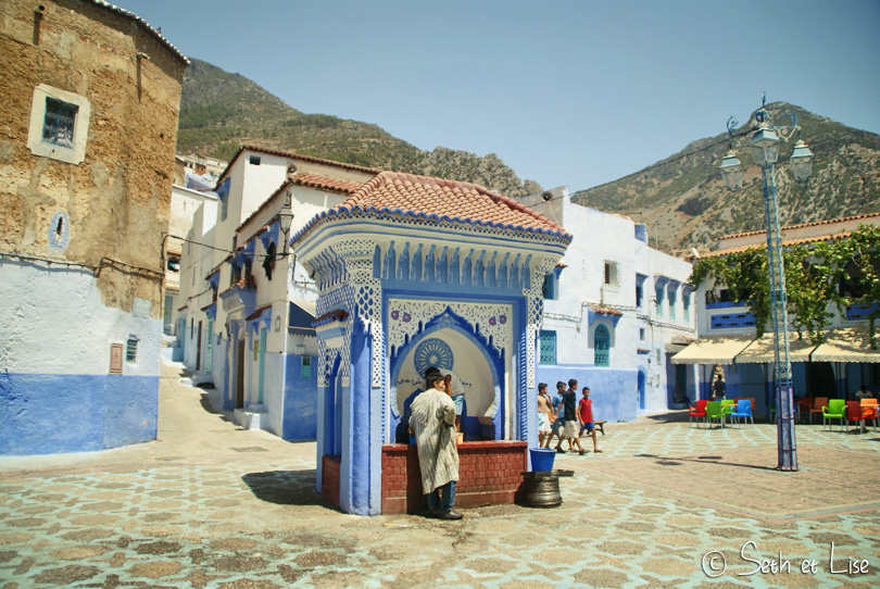 chefchaouen fontaine