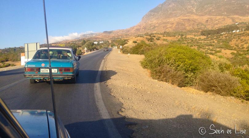 grand taxi tetouan chefchaouen maroc