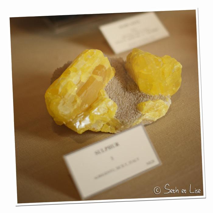 sulfure musee redpath geologie