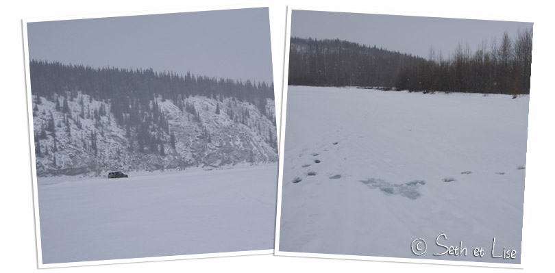 klondike river frozen