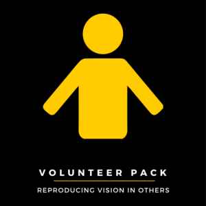 Volunteer Pack: Reproducing Vision in Others