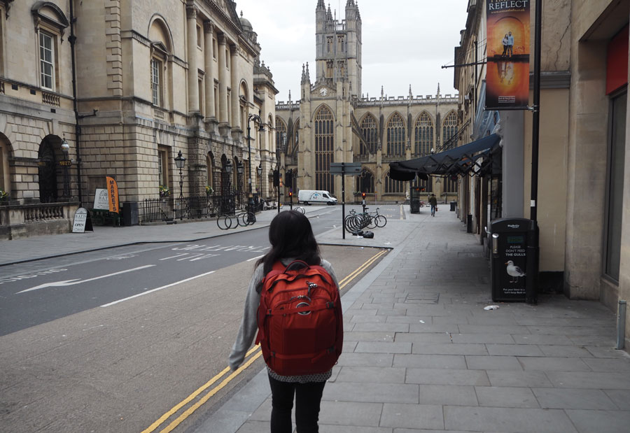 Backpacking in Bath