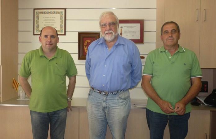 Gori Vicens, Toni Vicens Massot i Andreu Ramon, l'estiu del 2011