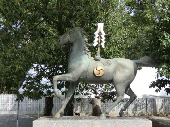 Iwaseo Hachiman-gū horse
