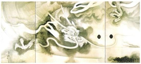 Descending dragon in Ryoanji