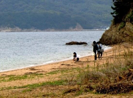 Karato Beach on Teshima