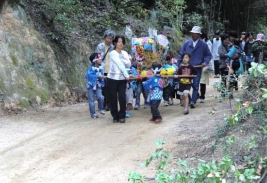 Taikodai for Kids in Karato, Teshima
