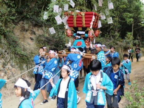 Taikodai for Teens in Karato, Teshima