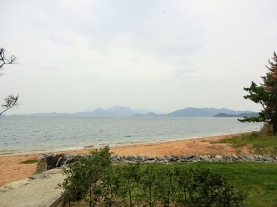 Karato's Beach on Teshima