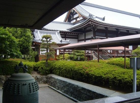Zentsuji - behind the Mieido