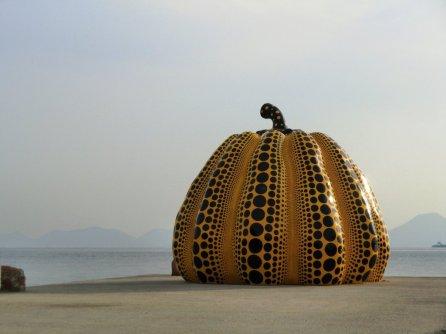 Yayoi Kusama - Yellow Pumpkin 3