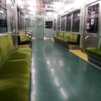 Commuting in Japan...