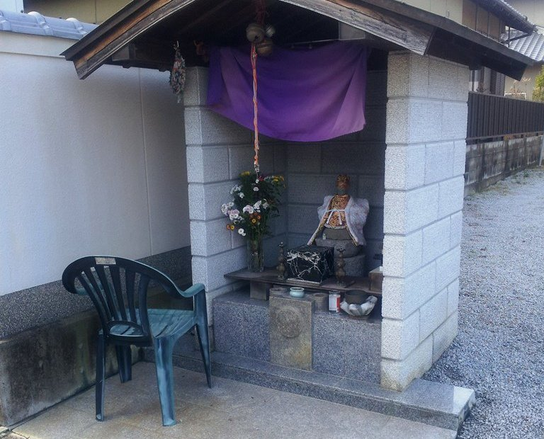 Very small shinto shrine
