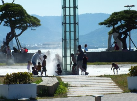 Takamatsu Kids' favorite activity in Summer