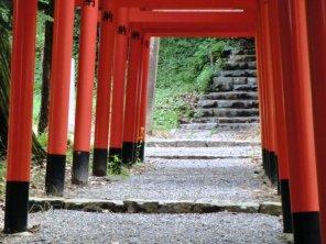 Kibitsuhiko Jinja - Torii