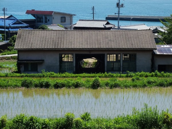 Chiharu Shiota's Distant Memory on Teshima