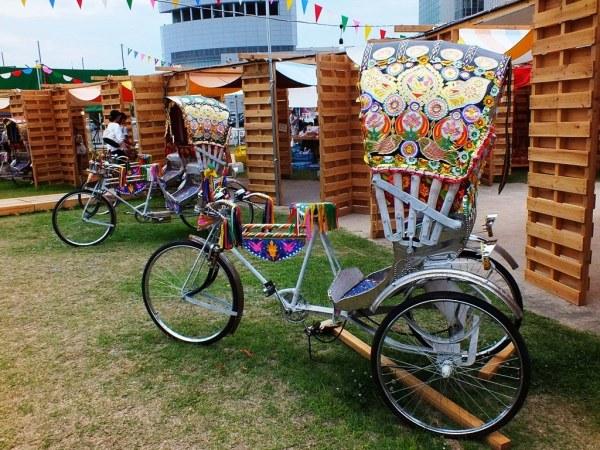Bengal Island - 28 july 2013 - Bangladeshi Rickshaw