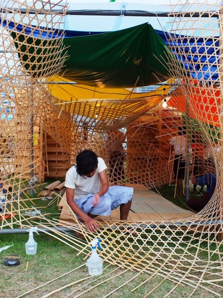 Bengal Island - 28 july 2013 - Weaving Weaving - 2