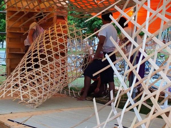 Bengal Island - 28 july 2013 - Weaving Weaving - 3