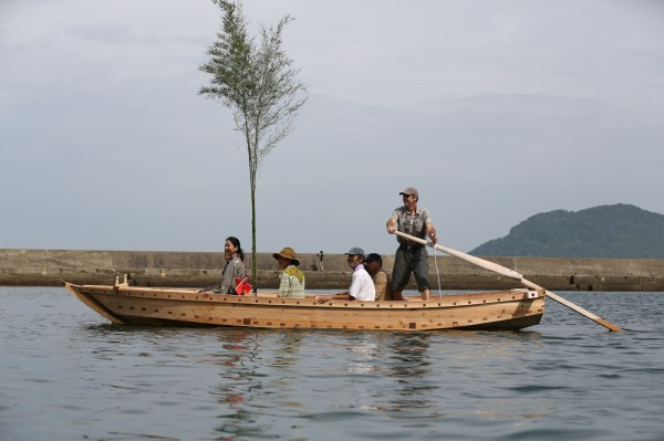 Traditional Japanese Boat Launching  - 3