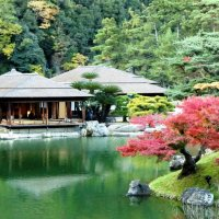 Ritsurin Garden in the Fall