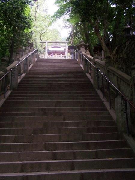 Konpirasan - last steps before the main shrine - 9