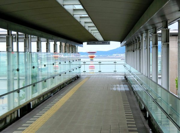 Walkway - Takamatsu Sunport