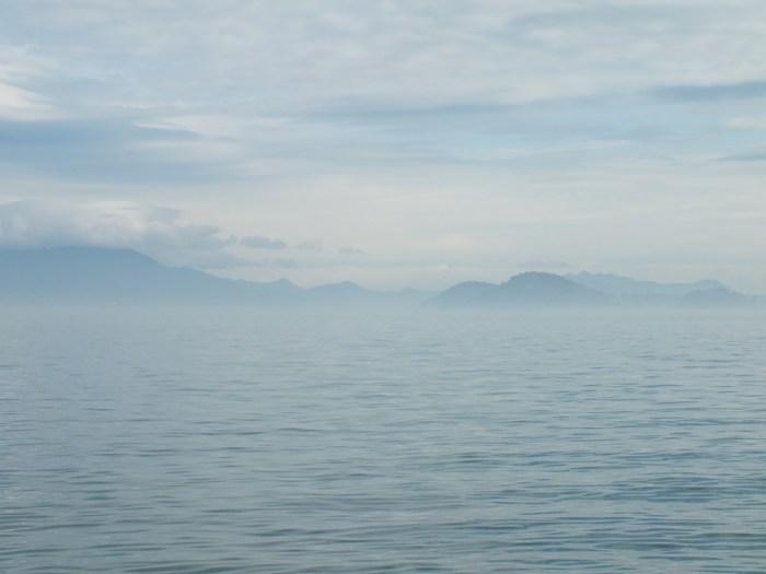 Seto Inland Sea in the Mist