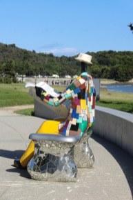 Niki de Saint Phalle - Naoshima - bench - 4