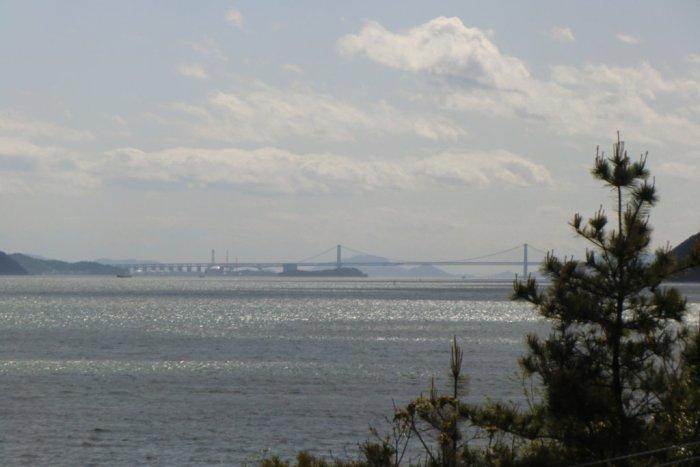 Great Bridge of Seto from Naoshima