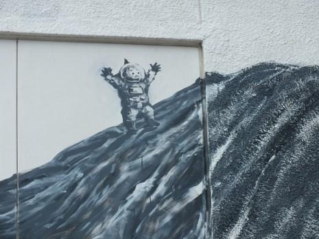 32 - Kenji Yanobe's Mural in Sakate - Shodoshima