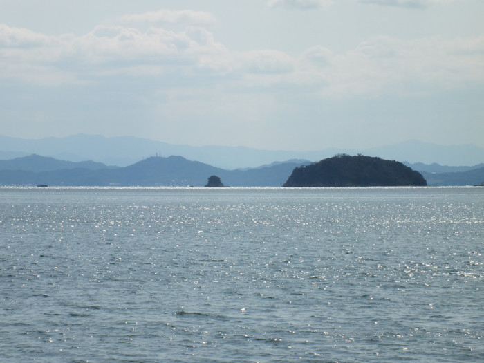 36 - Seto Inland Sea from Sakate Shodoshima