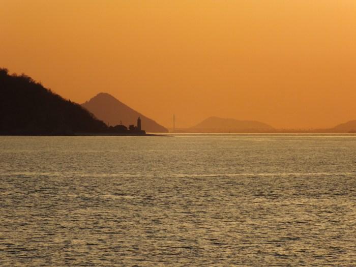 50 - Sunset over the Seto Inland Sea