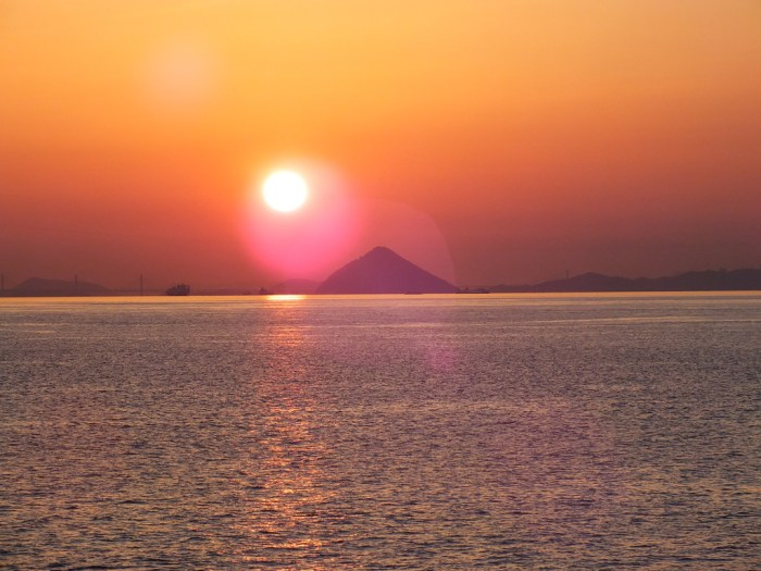 51 - Sunset over the Seto Inland Sea