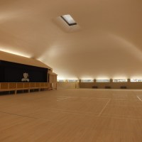 Inside Naoshima Hall