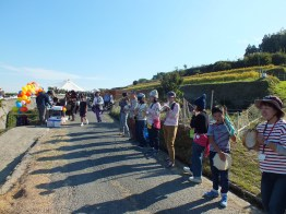 Harvest Festival and Seppuku Pistols on Teshima - 16