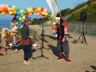Harvest Festival and Seppuku Pistols on Teshima - 22