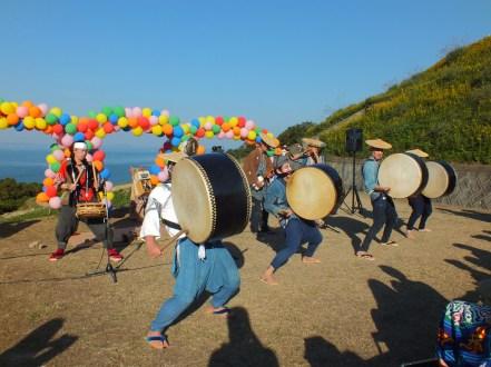 Harvest Festival and Seppuku Pistols on Teshima - 26