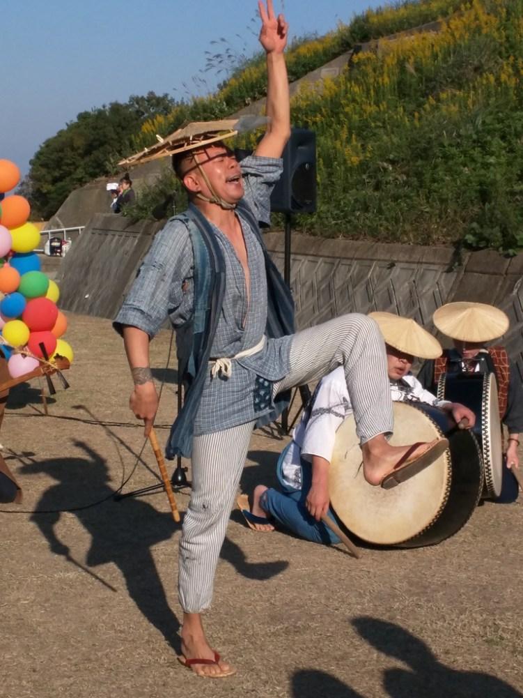 Harvest Festival and Seppuku Pistols on Teshima - 28