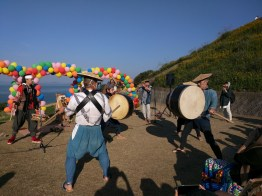 Harvest Festival and Seppuku Pistols on Teshima - 30
