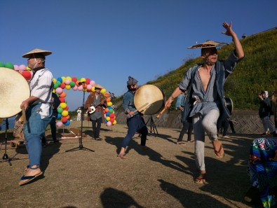 Harvest Festival and Seppuku Pistols on Teshima - 34