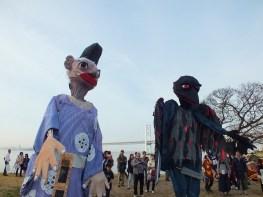 Snuff Puppets on Shamijima - Setouchi Triennale 2016 - 30