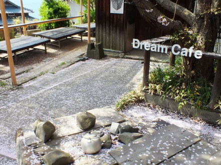 Dream Cafe may be closed until the next Triennale, it's still one of the best spots on the island when cherry blossom petals start falling.