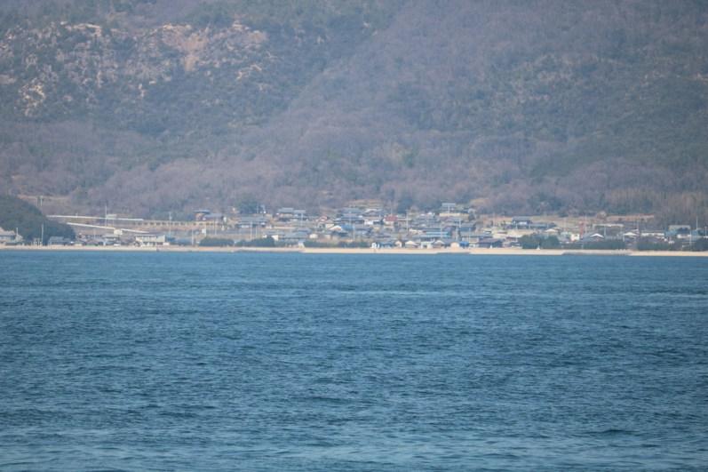 Testing the zoom (Koh on Teshima)