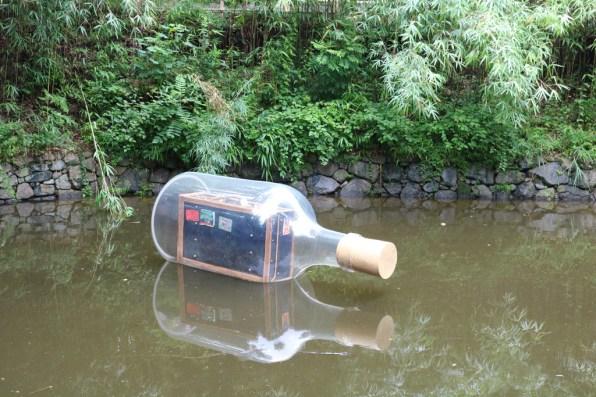 Art Takamatsu - Setouchi Triennale 2019 - 1 - Suitcase in a Bottle