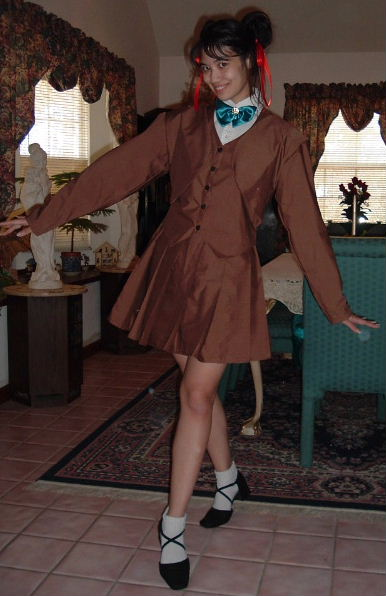 Fushigi Yuugi Miaka School Uniform Costume Cosplay
