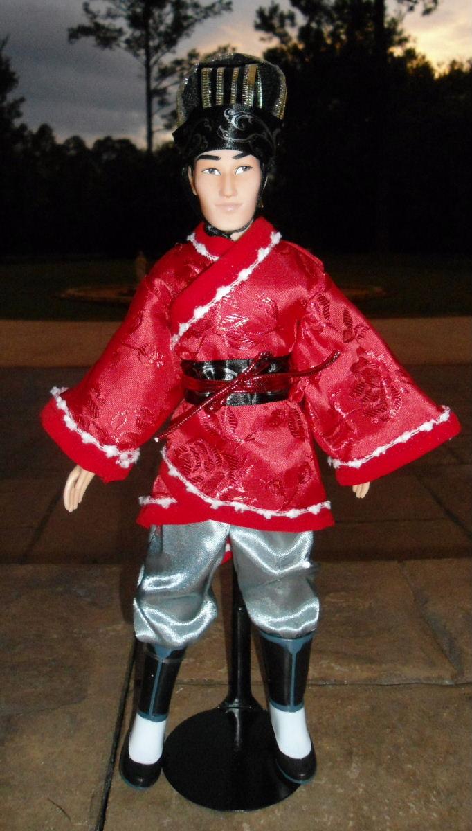Wedding Li Amp Mulan 11 Doll Set
