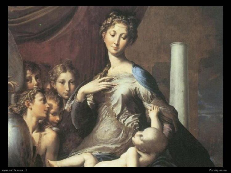 Biografía y obras de Francesco Mazzola llamados Parmigianino