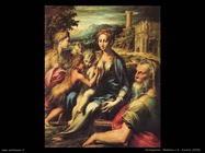 Parmigianino Madonna y San Zacarías (1530)